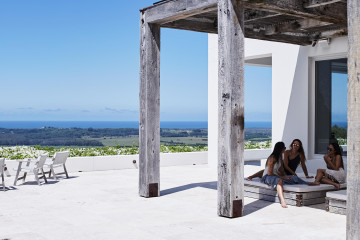 Rustic Mediterranean style home