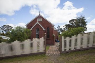 The Red Brick Church