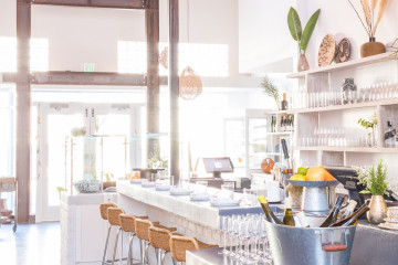 Airy, plant-filled Los Angeles restaurant